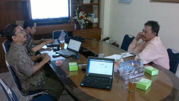 Kunjungan Pascasarjana UPY ke Biskom UAD